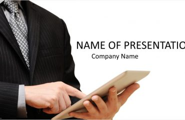 Tablet PC PowerPoint Template