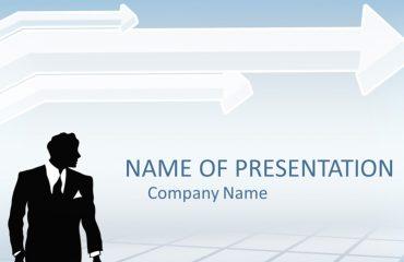 Businessman PowerPoint Template