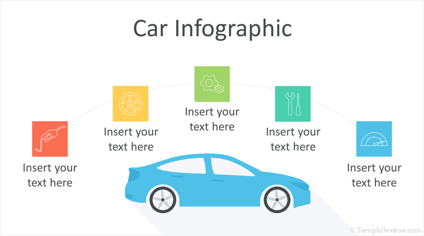 Car Infographic Powerpoint Template Templateswise Com