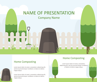 Composting PowerPoint Template