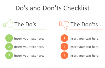 Do's and Don'ts PowerPoint Template