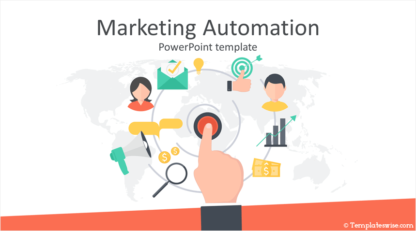 marketing automation powerpoint template templateswise com