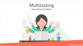 Multitasking PowerPoint Template