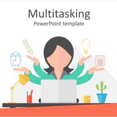 Multitasking PowerPoint Template