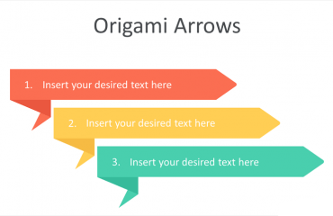 Origami Arrows PowerPoint Template