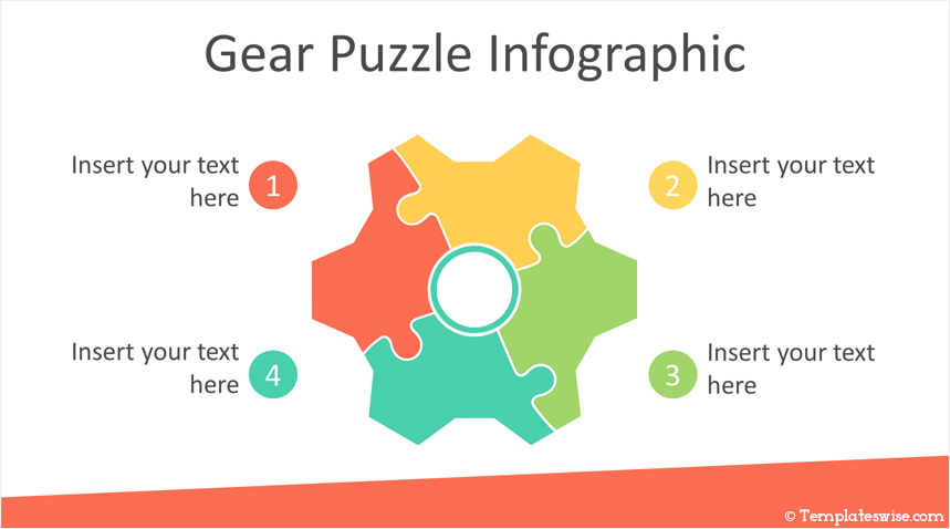 Puzzle infographics powerpoint template templateswise puzzle infographics powerpoint template maxwellsz