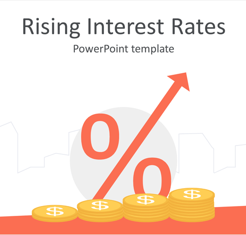 Rising Interest Rates PowerPoint Template