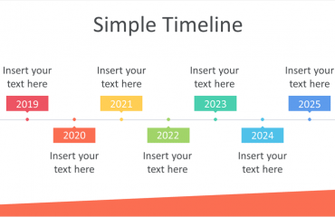 Simple Timeline PowerPoint Template