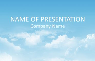 Sky PowerPoint Background
