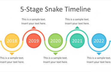 Snake Timeline PowerPoint Template
