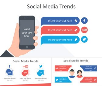 Social Media Trends - Infographics for PowerPoint