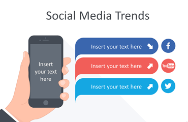 Social Media Trends – Infographics for PowerPoint