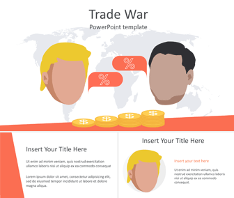 Trade War PowerPoint Template