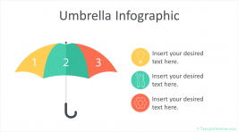 Umbrella Infographic PowerPoint Template