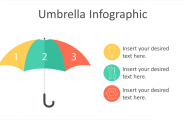 Umbrella Infographic PowerPoint Template