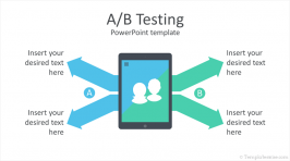 A/B Testing PowerPoint Template