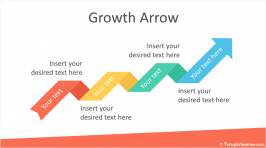 Growth Arrow PowerPoint Template