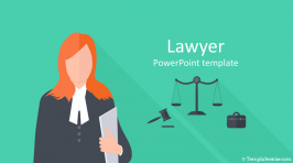 Lawyer PowerPoint Template
