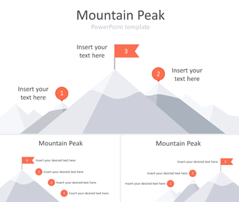 Mountain Peak PowerPoint Template