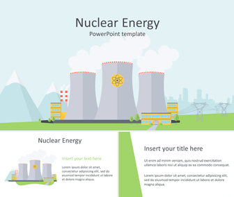 Nuclear Energy PowerPoint Template