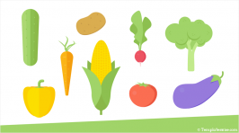 """""""Vegetable Icons for PowerPoint"""" is locked Vegetable Icons for PowerPoint"""