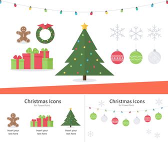 Christmas Icons for PowerPoint