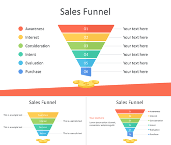 sales funnel powerpoint template templateswise com
