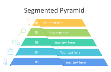 Segmented Pyramid PowerPoint Template