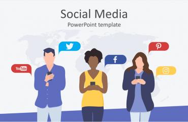 social media powerpoint templates