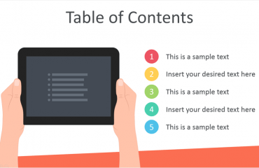 Table of Contents for PowerPoint