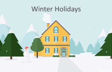 Winter Holidays PowerPoint Template