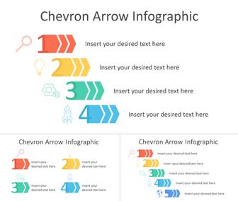 Chevron Arrow Infographic for PowerPoint