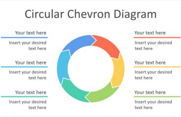 Circular Chevron Diagram for PowerPoint