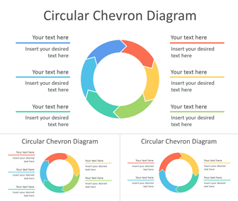 Circular Chevron Diagram for PowerPoint