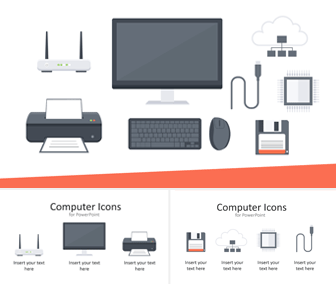 Computer Icons for PowerPoint