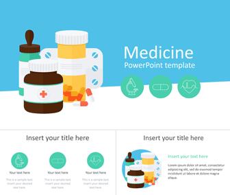Medicine PowerPoint Template - Templateswise com