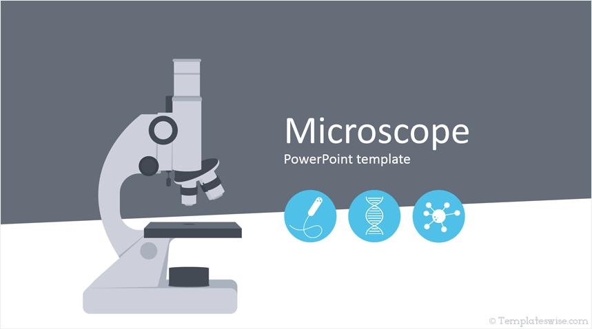 Microscope Powerpoint Template Templateswise Com