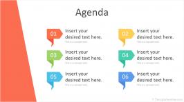 PowerPoint Agenda Template