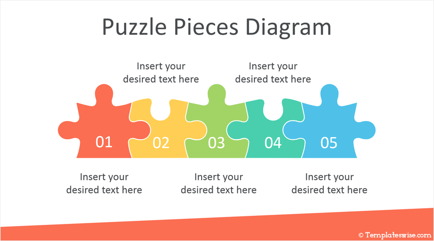 puzzle pieces powerpoint template. Black Bedroom Furniture Sets. Home Design Ideas