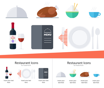 Restaurant Icons for PowerPoint