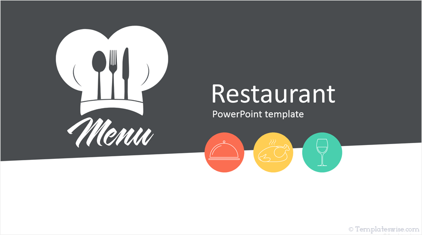 Restaurant Powerpoint Template Templateswise Com