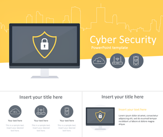Cyber Security Powerpoint Template Templateswise Com