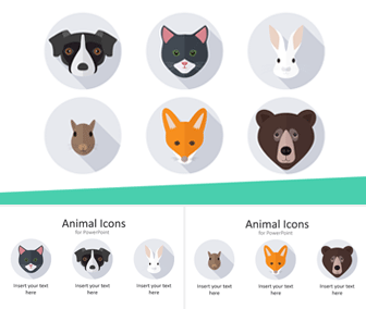 Animal Icons for PowerPoint