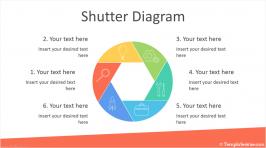 Shutter Diagram for PowerPoint
