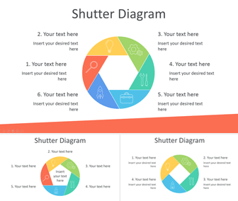 Shutter Diagram for PowerPoint