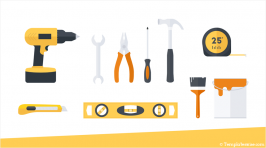 Tools Icons for PowerPoint
