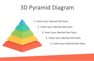 3D Pyramid Diagram for PowerPoint