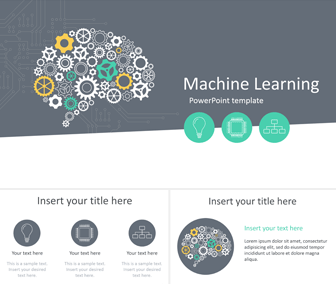 Machine Learning Powerpoint Template Templateswise Com