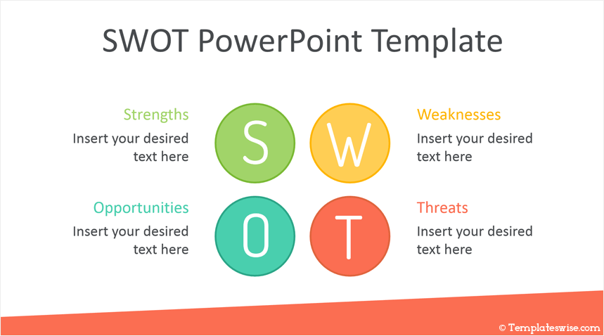 Swot Powerpoint Template Templateswise Com
