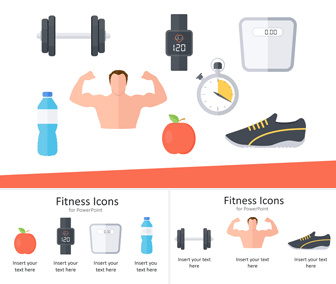 Fitness Icons for PowerPoint